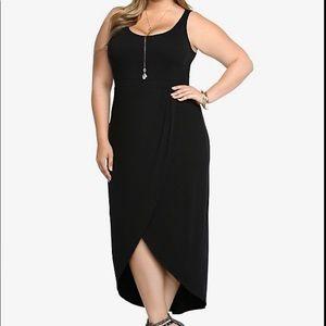 TORRID TULIP MAXI DRESS In Black